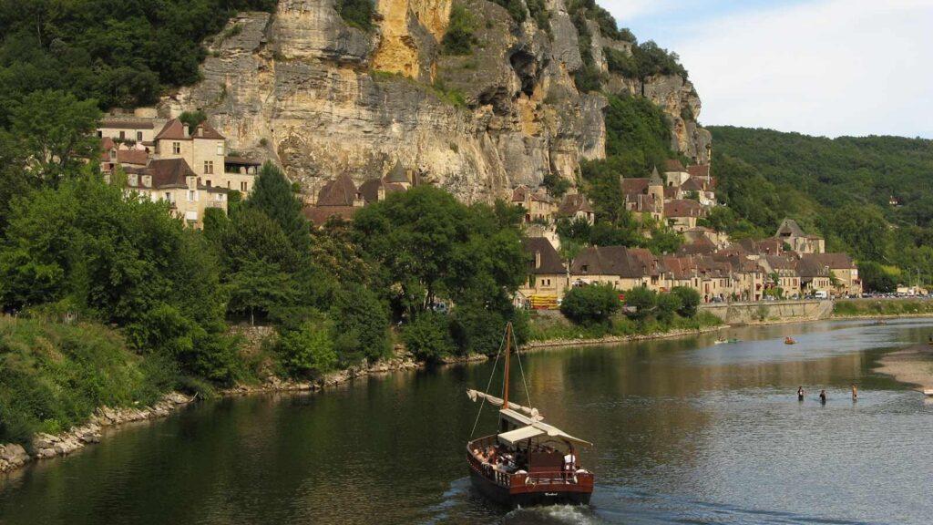 Dordogne Gabare Perigord Noir
