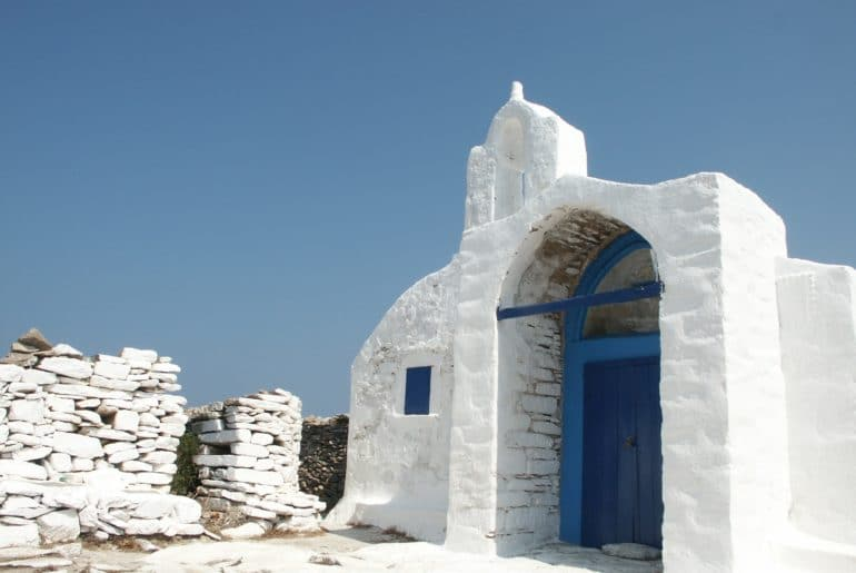 Grece Eglise Blanche