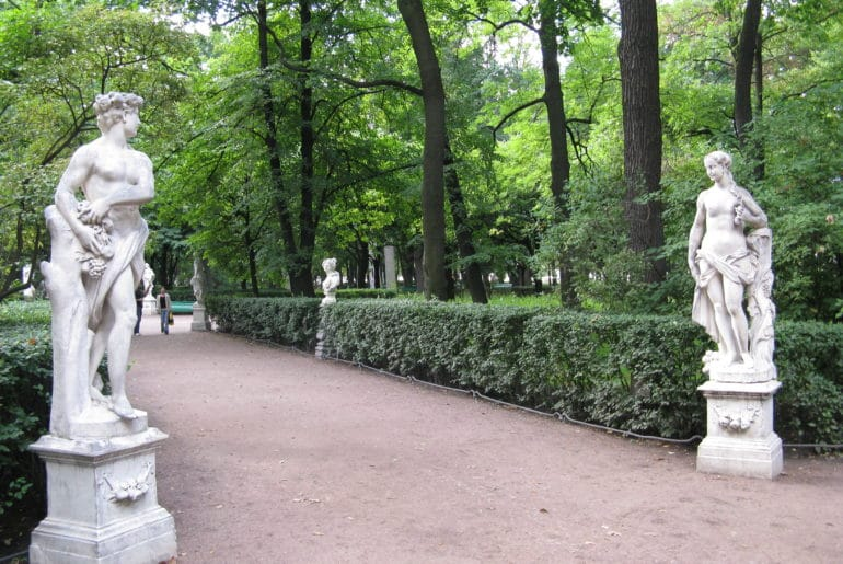 Summer Garden Saint Petersbourg